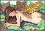 Birth of a fairy by PammyArt