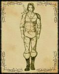 Edyn - sketch by PammyArt