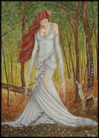 Queen of Wood by PammyArt