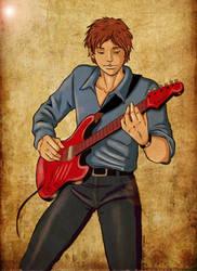 Music in my heart by PammyArt