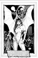 Vampirella of Draculon-Pinup by MichaelBair
