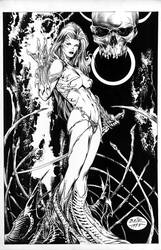 WitchBlade__Pinup by MichaelBair
