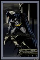 BATMAN_color by ChrisShields by MichaelBair