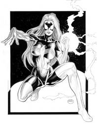 Spider-Woman II by Michael Bai by MichaelBair