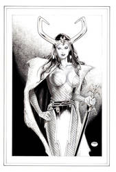 LOKI_the Mistress of Evil by MichaelBair