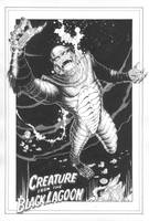 Creature From The Black Lagoon by MichaelBair