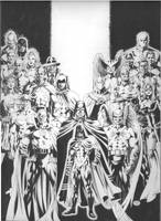 JSA 38 cover-Black and White by MichaelBair