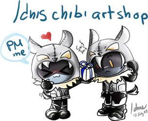 chibi art shop by LarienSnowpaw