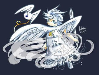 ll Kupo ll angel by LarienSnowpaw