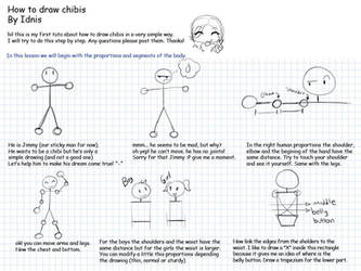 how to draw chibi part1 by LarienSnowpaw