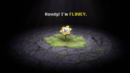 Undertale - howdy I'm Flowey by LarienSnowpaw