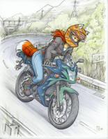 Moto Mugi by fredrin
