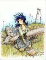 Lost Wings - Junko by fredrin