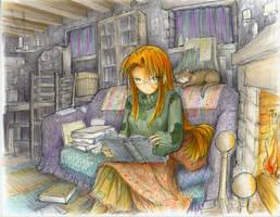 Pirogoeth - Books That Don't Bite by fredrin