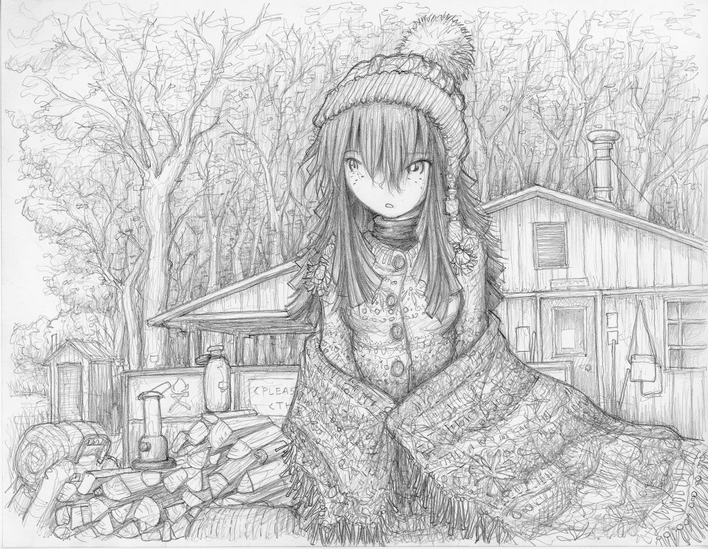 Laid Back Cold Weather Camping Megumi by fredrin