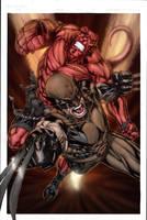 Hellboy-Wolverine - Niggaz4lif by SpiderGuile