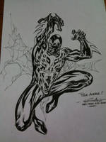 Spider-Man 2099 - Paris Manga by SpiderGuile