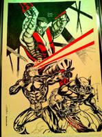 X-Men - Paris Manga SciFi Show by SpiderGuile