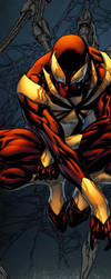 Iron Spider-Man - Spidermanfan2099 colors wip by SpiderGuile