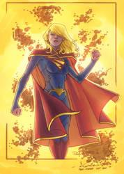Supergirl - Niggaz4Life colors by SpiderGuile