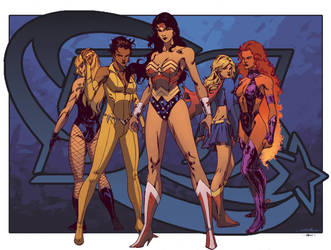Women of DC - Ross A. Campbell by SpiderGuile