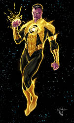 Sinestro Yellow Lantern - Chimeraic colors by SpiderGuile