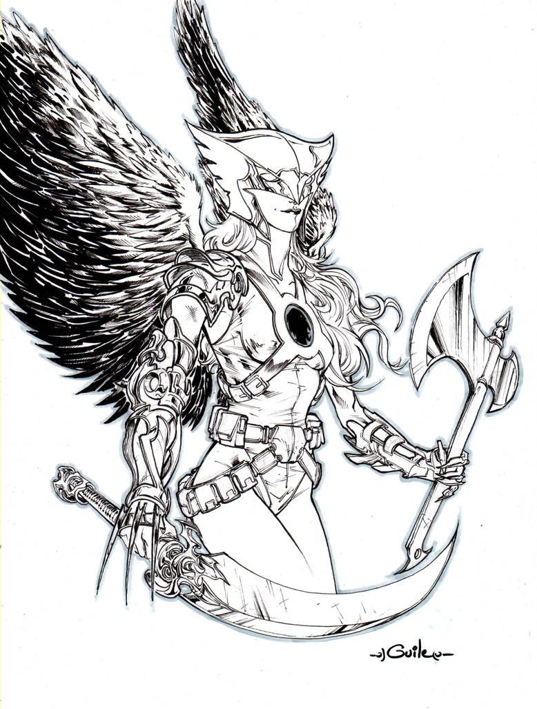 Hawkgirl - Paris Comicon 2012 by SpiderGuile