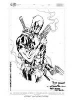 Deadpool - Paris Manga SciFi Show (sept2012) by SpiderGuile