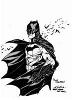 Batman - Paris Manga SciFi Show (september2012) by SpiderGuile