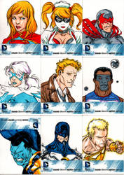 Cryptozoic DCnU 52 sketchcards set 2 by SpiderGuile
