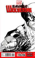 Wolverine - Savage Wolverine #1 by SpiderGuile