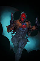 Red Hood - Sqarr colors by SpiderGuile