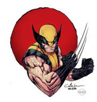 Wolverine - Paris Manga Show - Paris Alleyne color by SpiderGuile