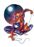 Spider-Man - Paris Manga SciFi - Gabriel Cassata by SpiderGuile