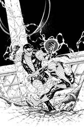 Spider-Man Thursday 13 - John Livesay inks by SpiderGuile