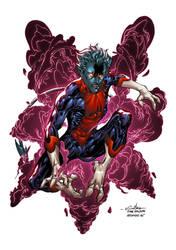 Nightcrawler - Alonso Espinoza Colors by SpiderGuile