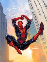 Amazing Spider-Man - Splash Colors by SpiderGuile