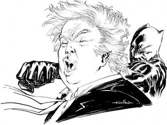 Trump, shut the fuck up! by SpiderGuile
