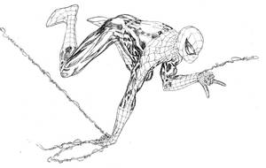 Amazing webswinging Spider-Man by SpiderGuile