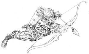 Hawkeye by SpiderGuile