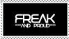 Freak stamp by rawksmysawks