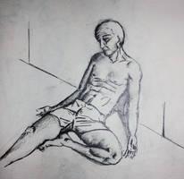 Man Study 2 by zarrarkhan