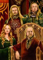 Royal Family of Rohan by AllisonSohn