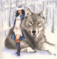 SnowWhite and Bigby Wolf by AllisonSohn