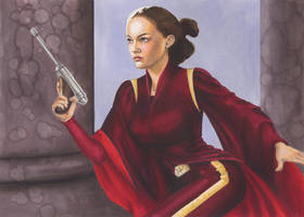 Padme: Women of Star Wars by AllisonSohn