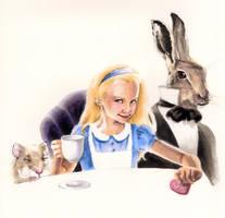 Alice in Wonderland by AllisonSohn