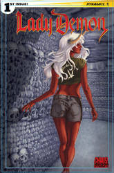 Lady Demon cover by AllisonSohn