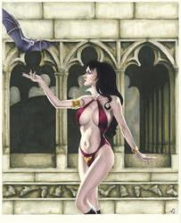 Vampirella by AllisonSohn