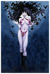 Vampirella Collaboration by AllisonSohn