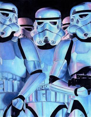 Storm Troopers by AllisonSohn